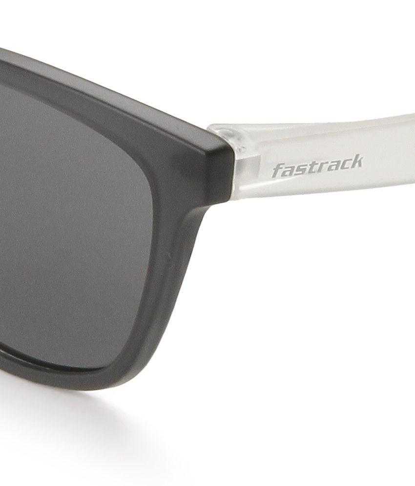 buy wayfarer sunglasses  Fastrack PC003BK3 Gray Wayfarer Sunglasses - Buy Fastrack PC003BK3 ...