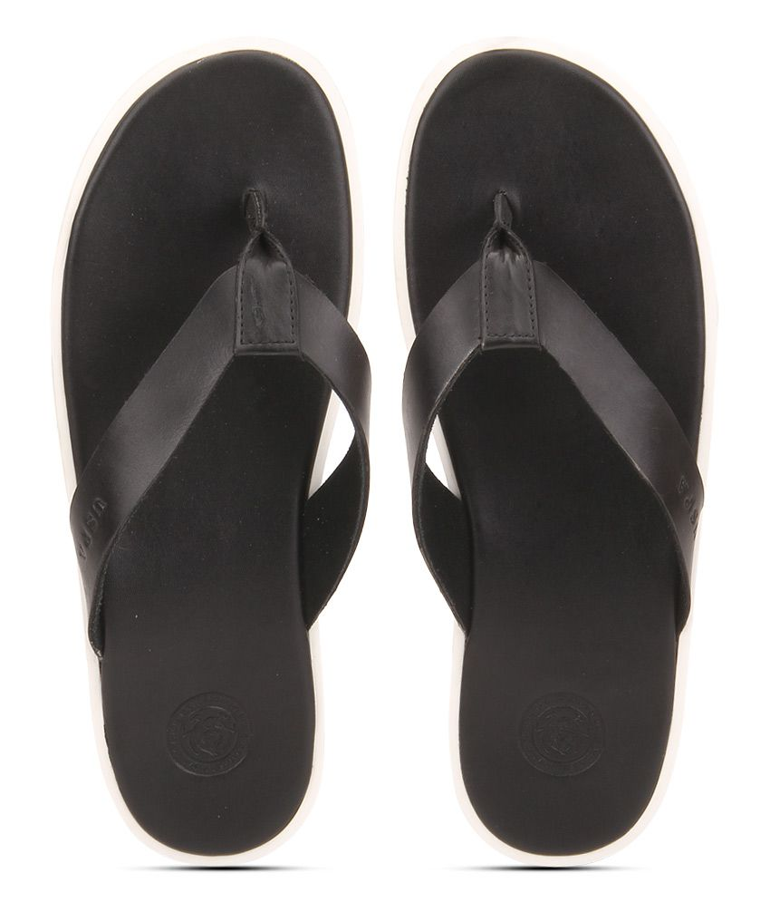 599be12960114a U.S. Polo Assn. Black Slippers Price in India- Buy U.S. Polo Assn. Black  Slippers Online at Snapdeal