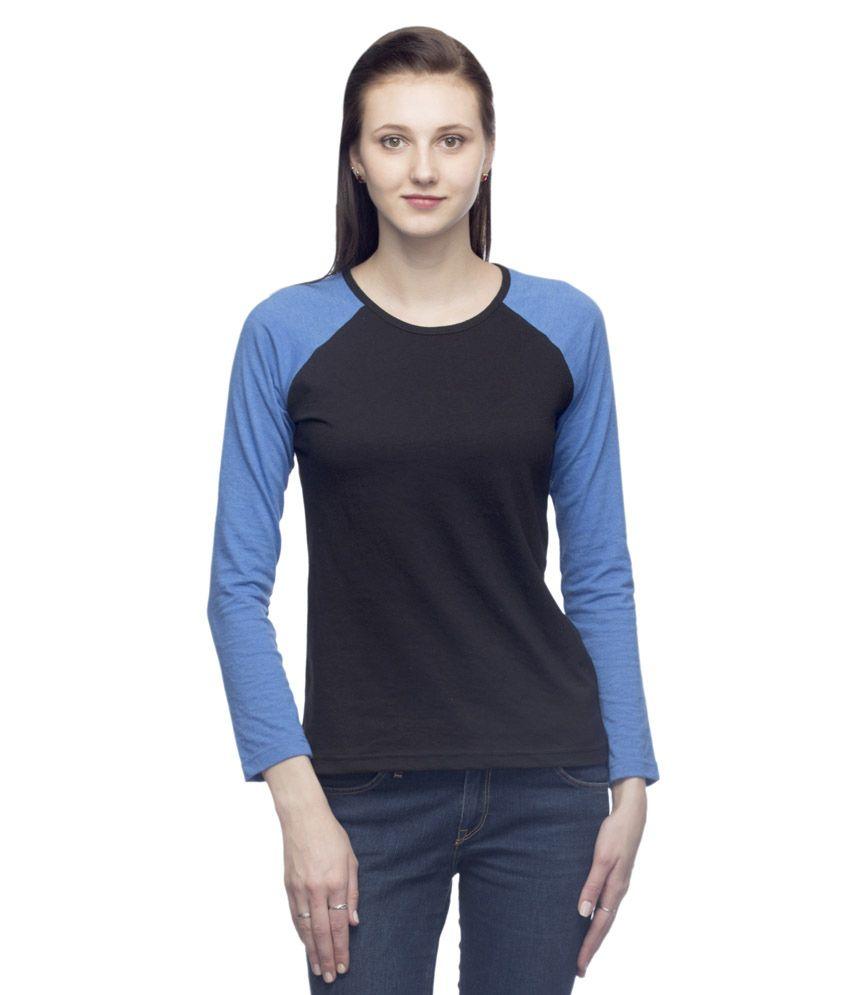 Country Sports Black Cotton Blend T-Shirt