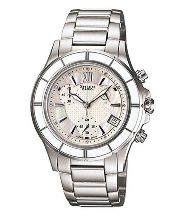 Casio Majestic Silver Tone Strap Watch