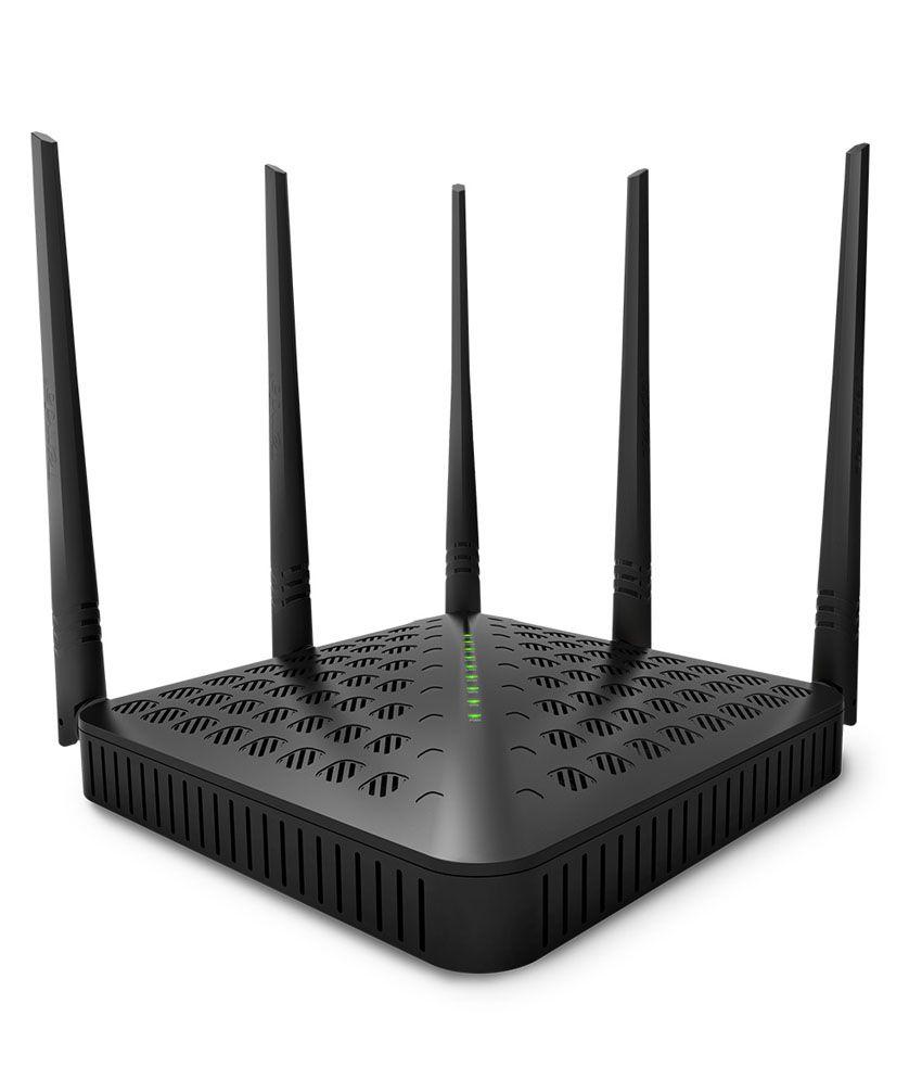 Tenda Wireless Ac1200 Dual Band Gigabit High Power Router With 5 Outdoor Antenna (Te-Fh1202)