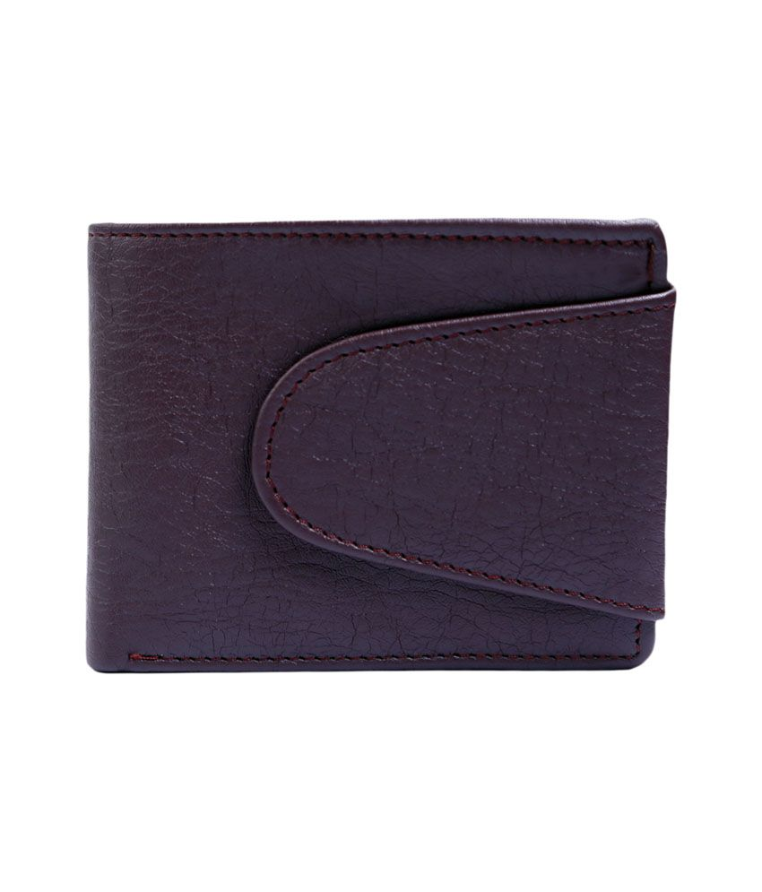Contra Brown Regular Wallet For Men