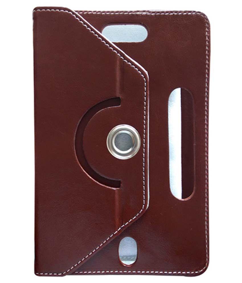 Fastway Flip Cover For Plum Link II - Maroon