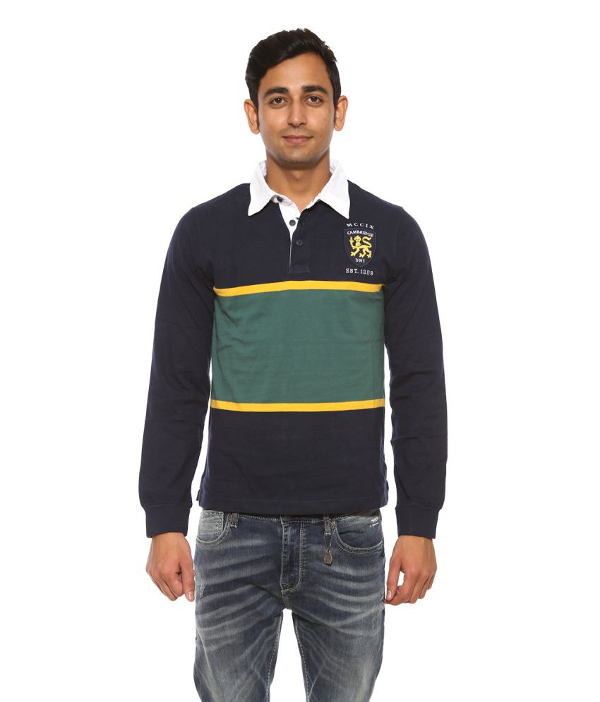 d75e815d83f Pepe Jeans Multicolour Full Sleeves Stripes Polo T-Shirt - Buy Pepe Jeans  Multicolour Full Sleeves Stripes Polo T-Shirt Online at Low Price -  Snapdeal.com