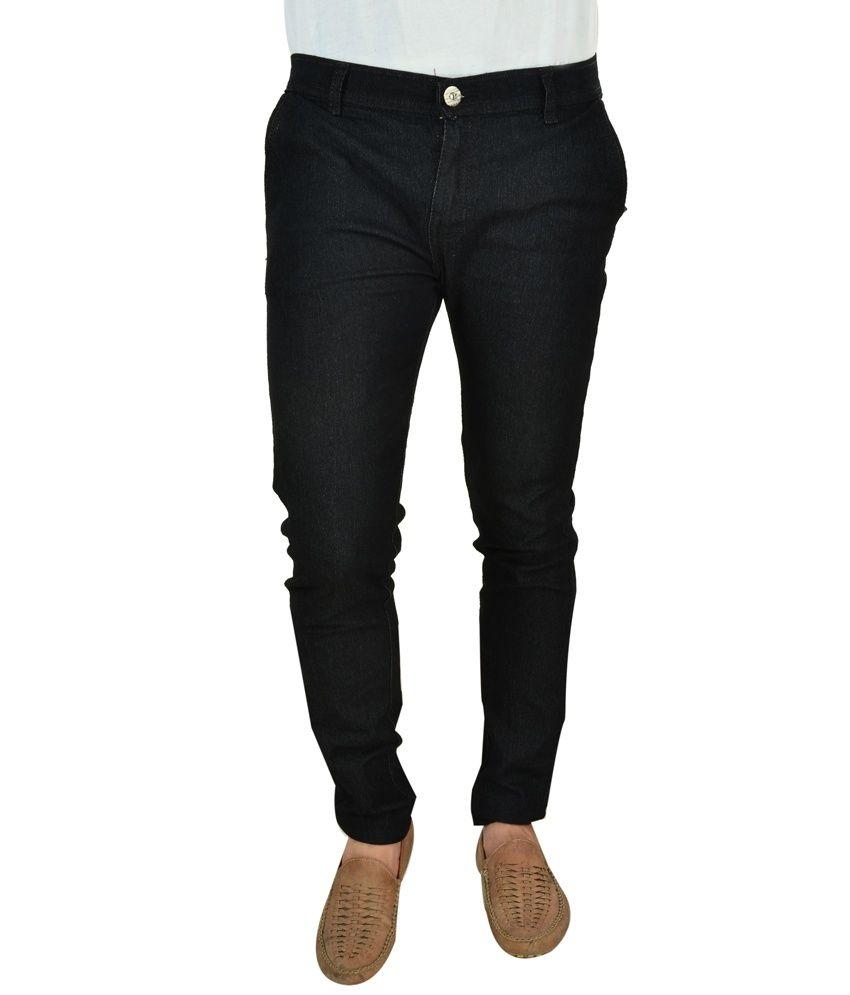 Dremz Blu Black Slim Fit Jeans - Pack 0f 2