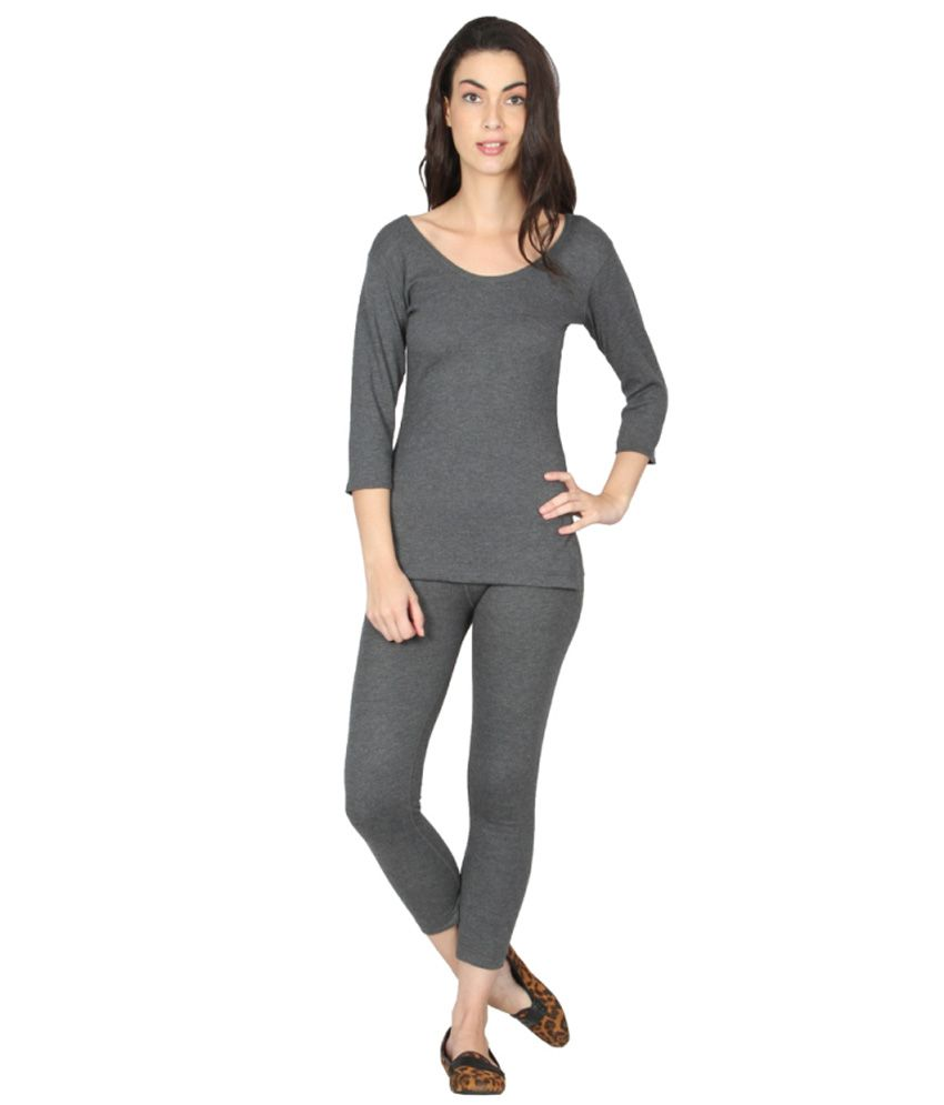 8e3cb9755 Buy Jockey Gray Thermals Online at Best Prices in India - Snapdeal