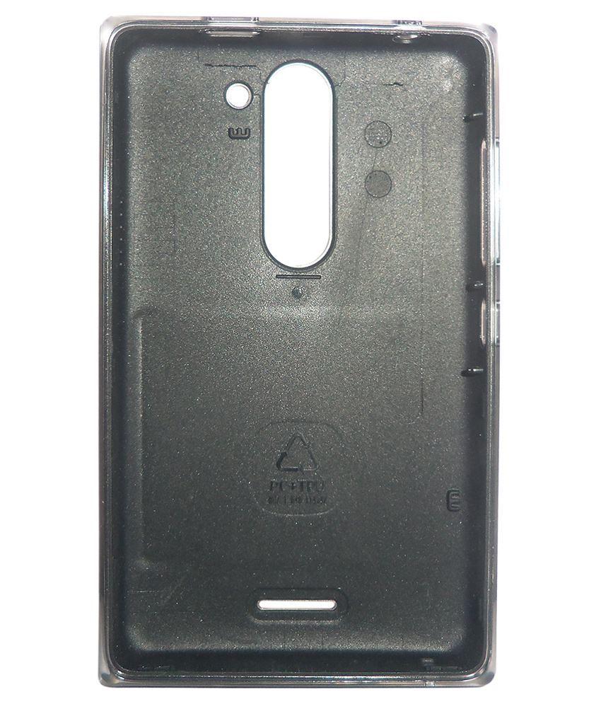 super popular ca159 7fbf2 Totta Battery Back Cover For Nokia Asha 502 Dual Sim-Black
