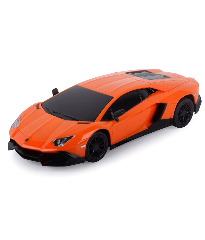 Gm Enterprises Gm Enterprises Orange Rechargeable Remote Control Car