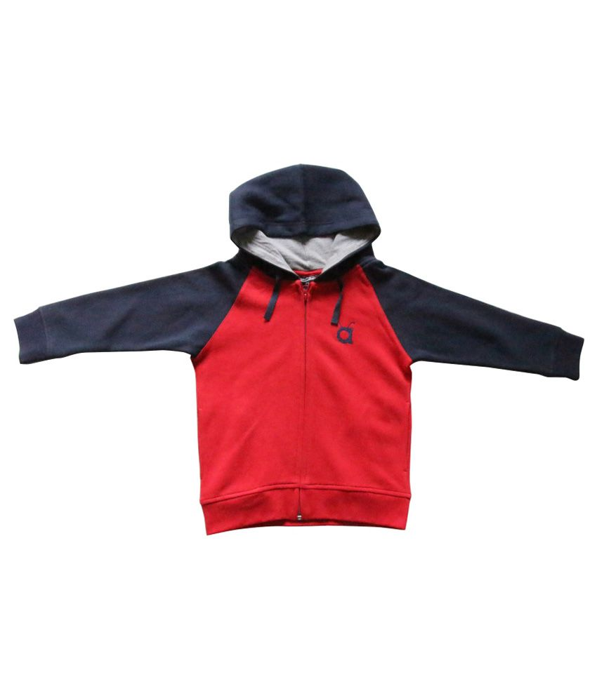 Anthill Red Cotton Windcheater