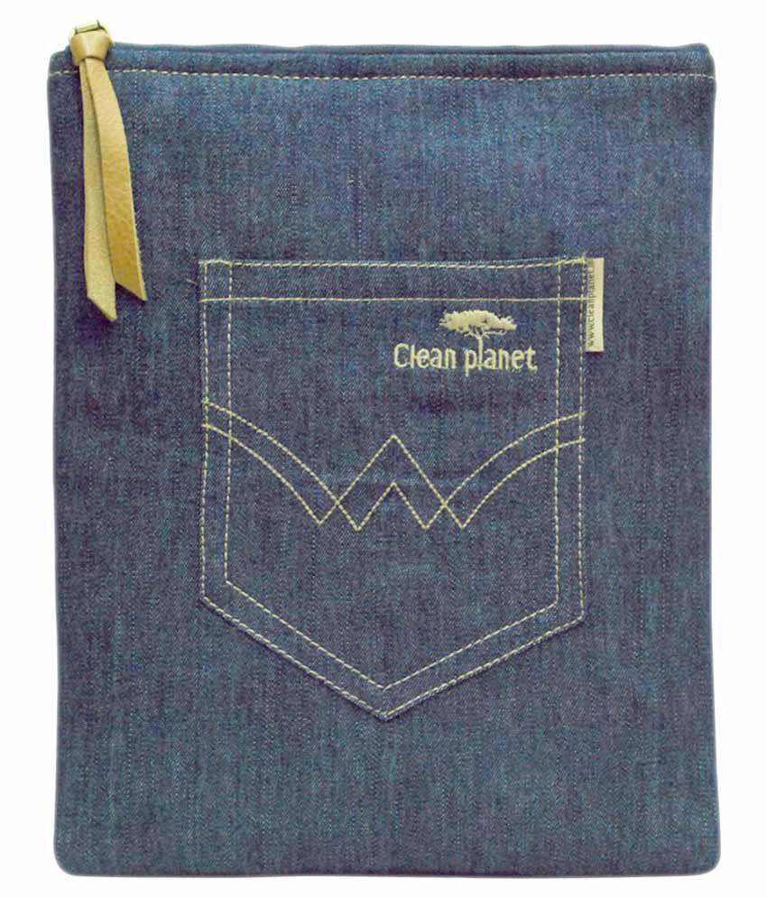 Clean Planet Sleeve For Apple Ipad Mini - Blue