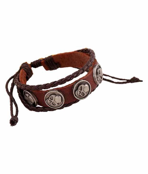 Aaishwarya Brown Daily Wear Bracelet