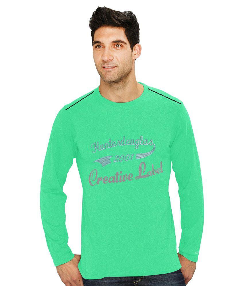 Hd Hunter Douglas Green Cotton T- Shirt