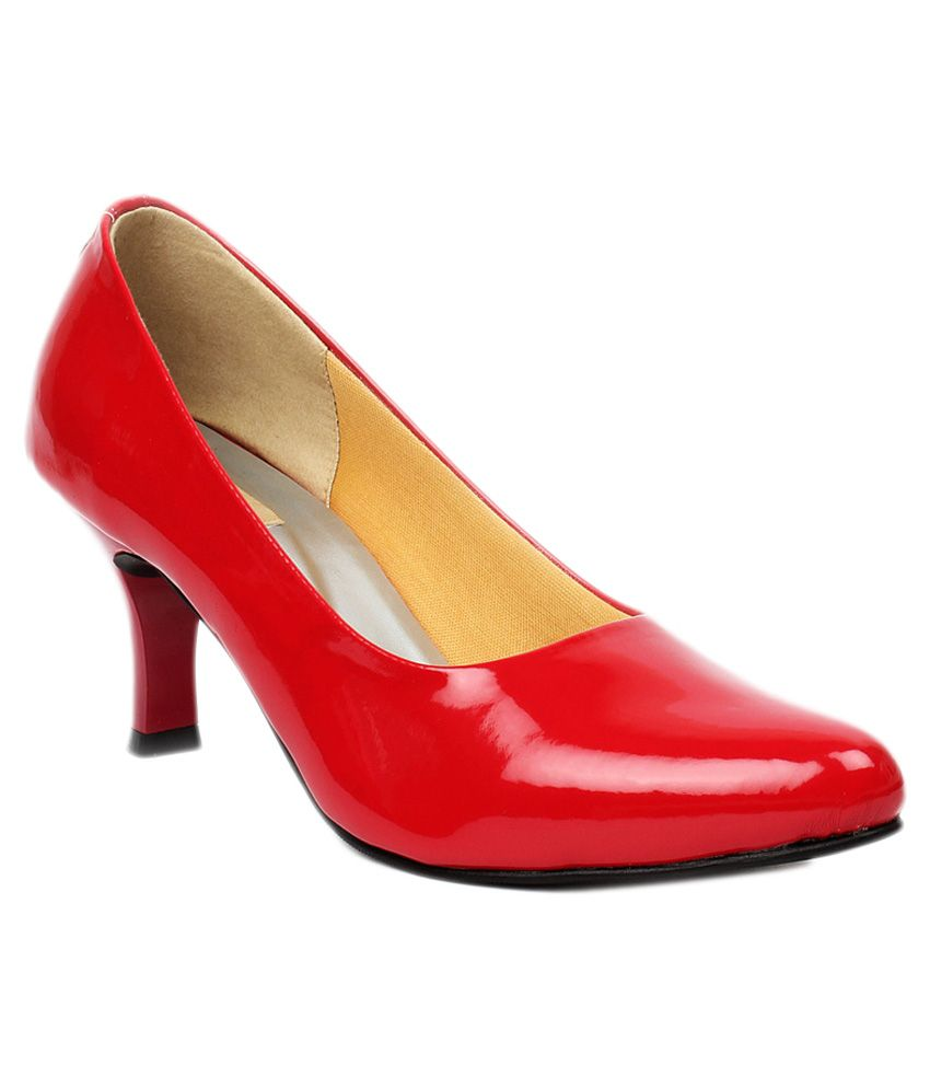 Foot Candy Red Pumps