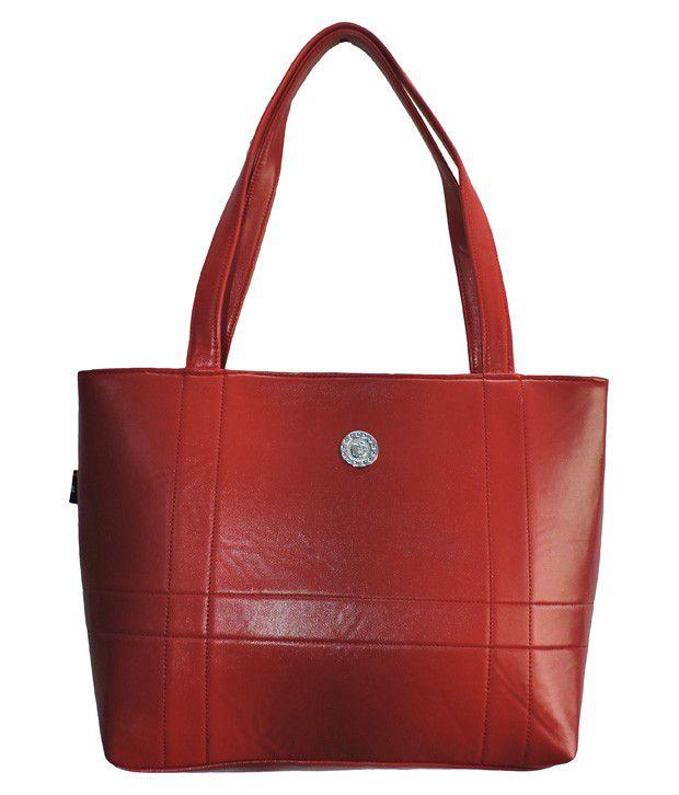 WildModa Red Zip Shoulder Bag