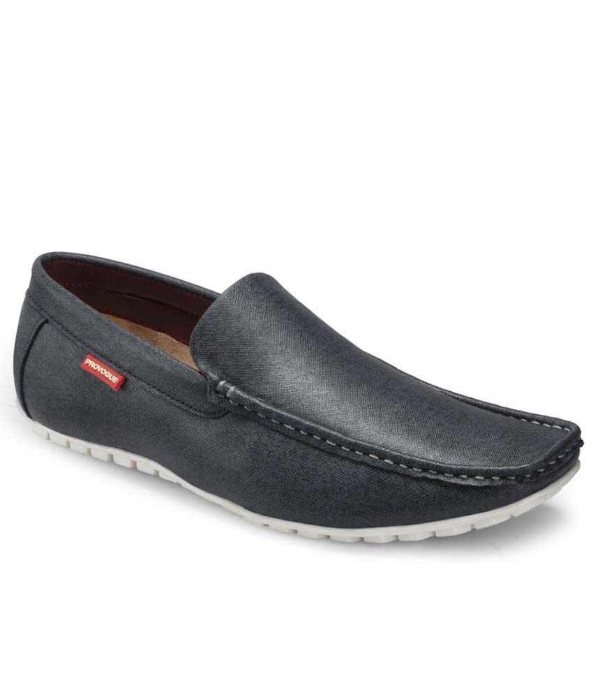 fe94d21eaa2 Provogue Black Loafers - Buy Provogue Black Loafers Online at Best ...