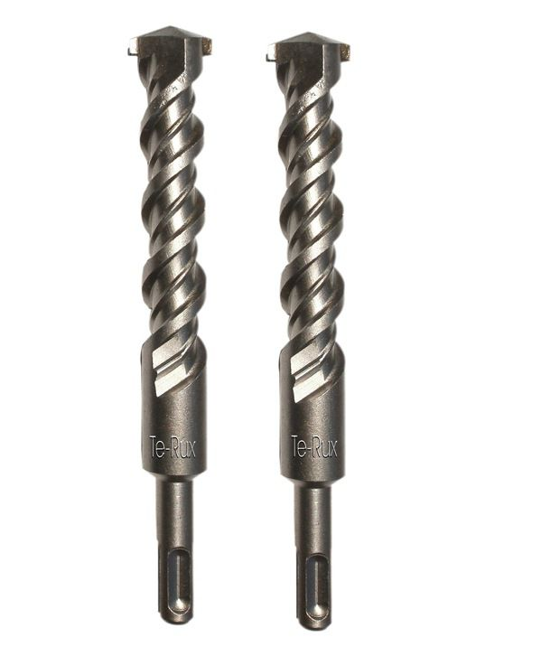 Te-Rux SDSP26360-2 SDS Plus Hammer Drill Bit (26 x 360, Set Of 2)