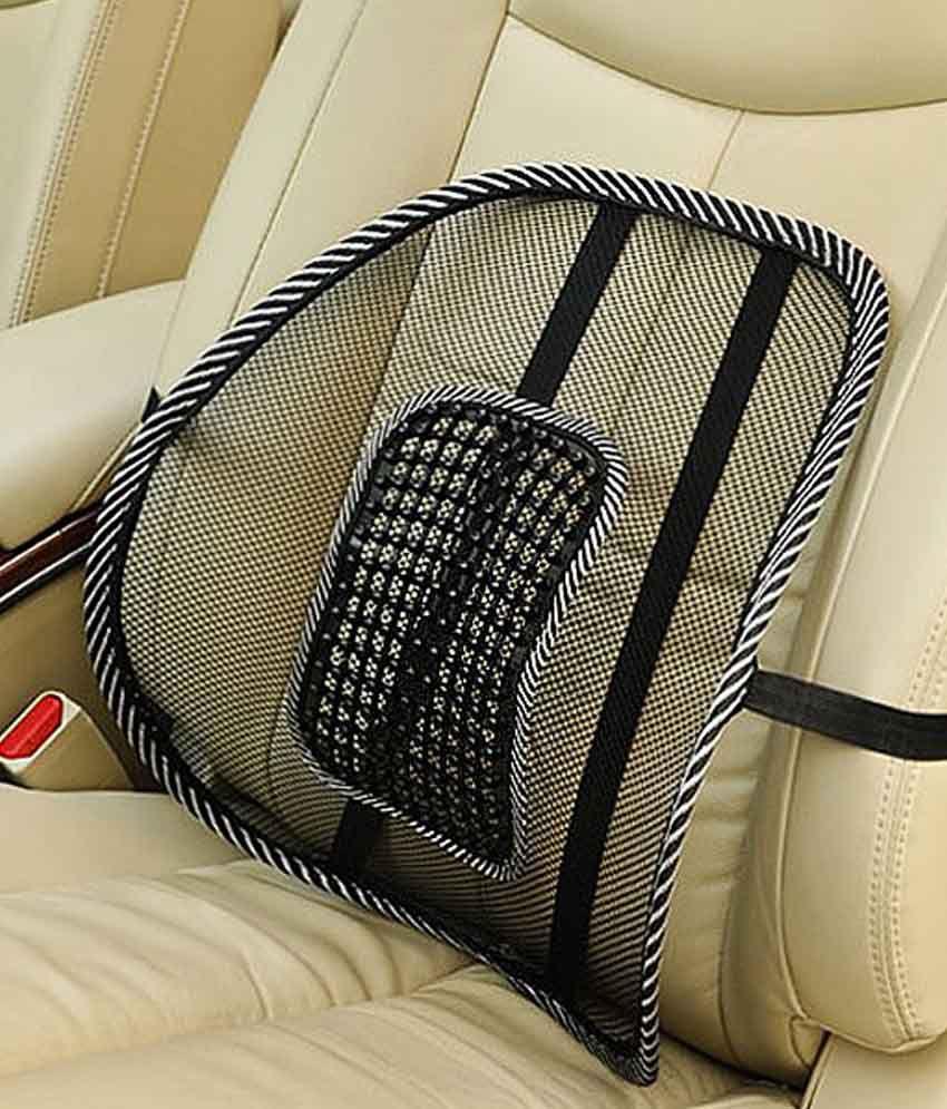 Autostark Car Seat Massage Chair Back Lumbar Support For Mahindra Scorpio