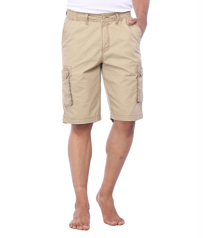 Bornfree Beige Shorts