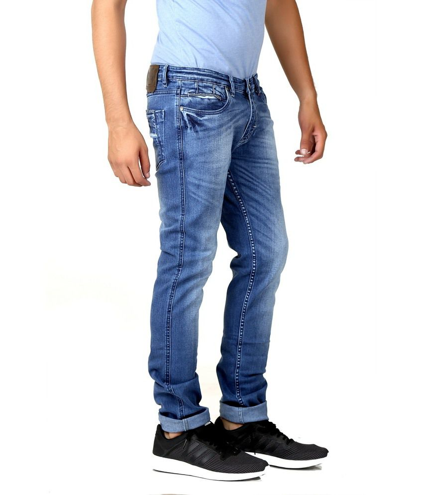 Circle Jeans Blue Slim Fit Jeans