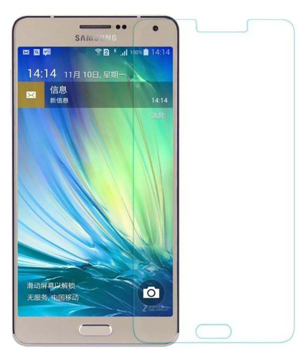 Ds Tempered Glass Screen Guard For Samsung Galaxy A8
