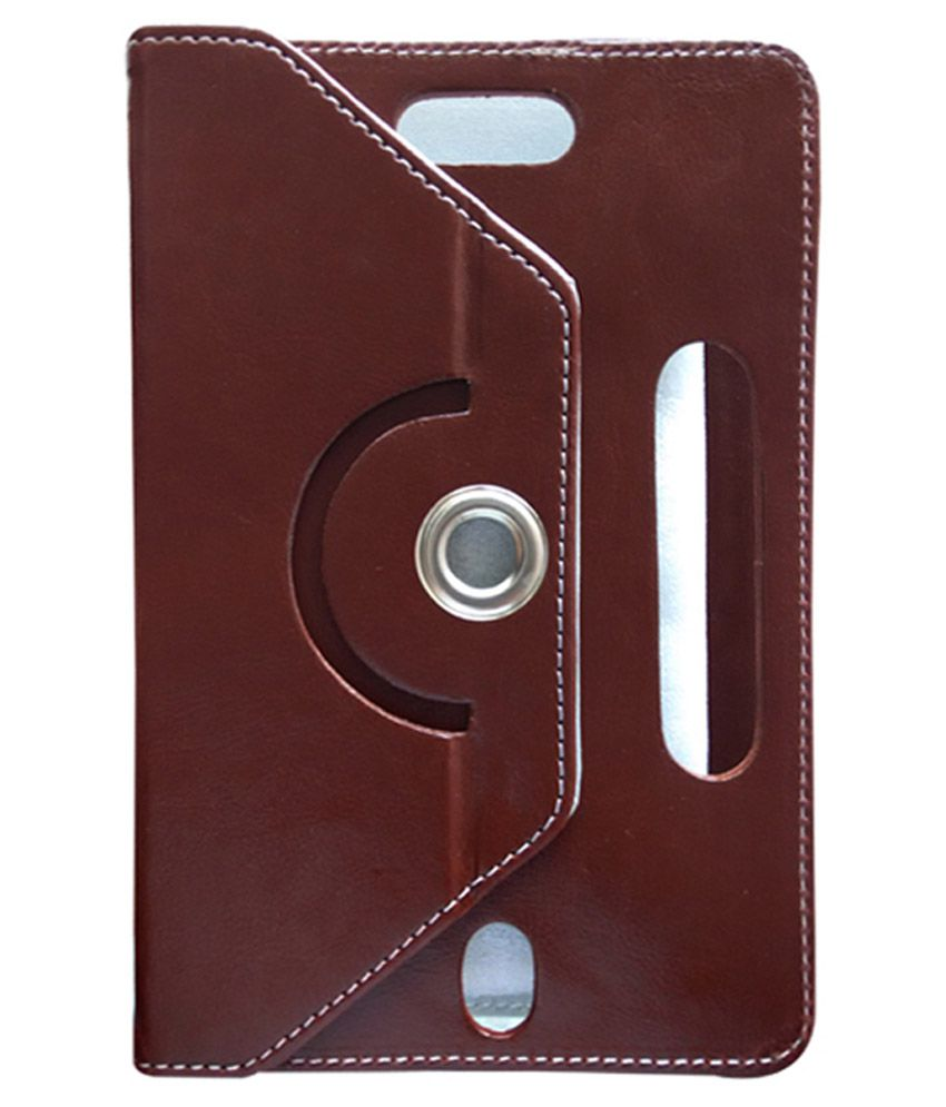Fastway Flip Cover For HCL Me V1 Tab 7 - Brown