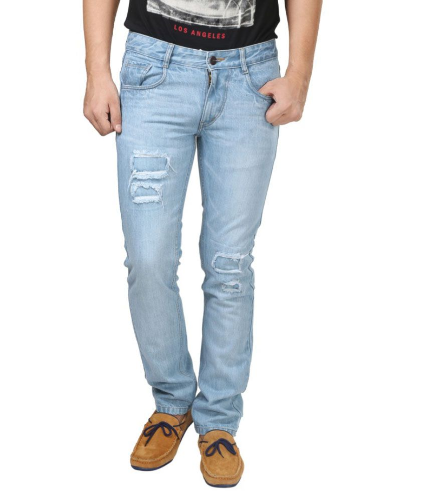 Trendy Trotters Blue Regular Fit Jeans