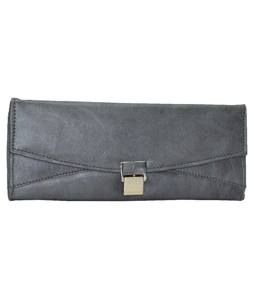 Utsukushii Gray Formal Wallet