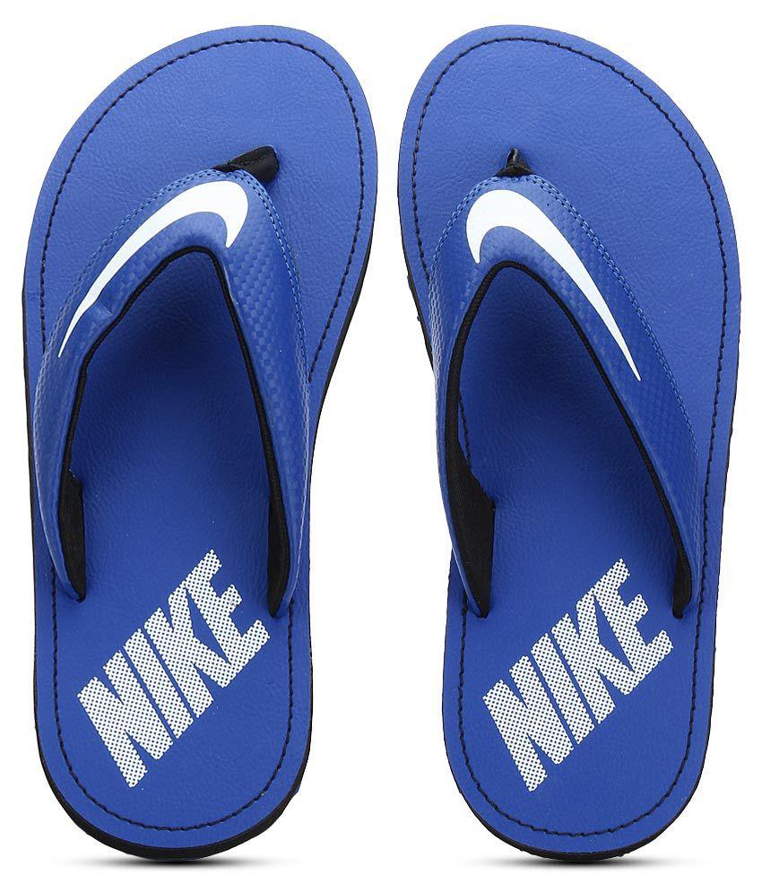 Nike Chroma Thong 4 Blue Slippers ...