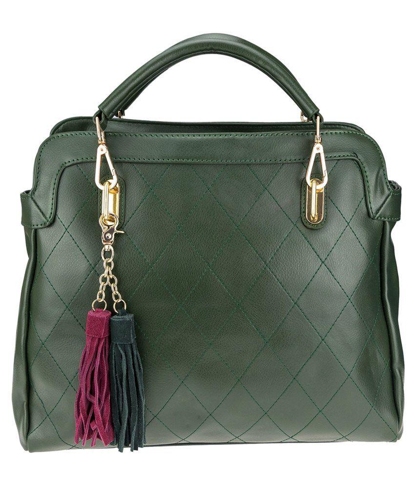 Genious Green Shoulder Bag