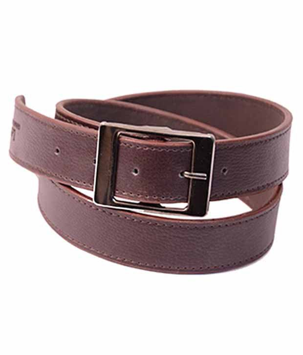 AAM Shopping Brown Leather Casual Belts