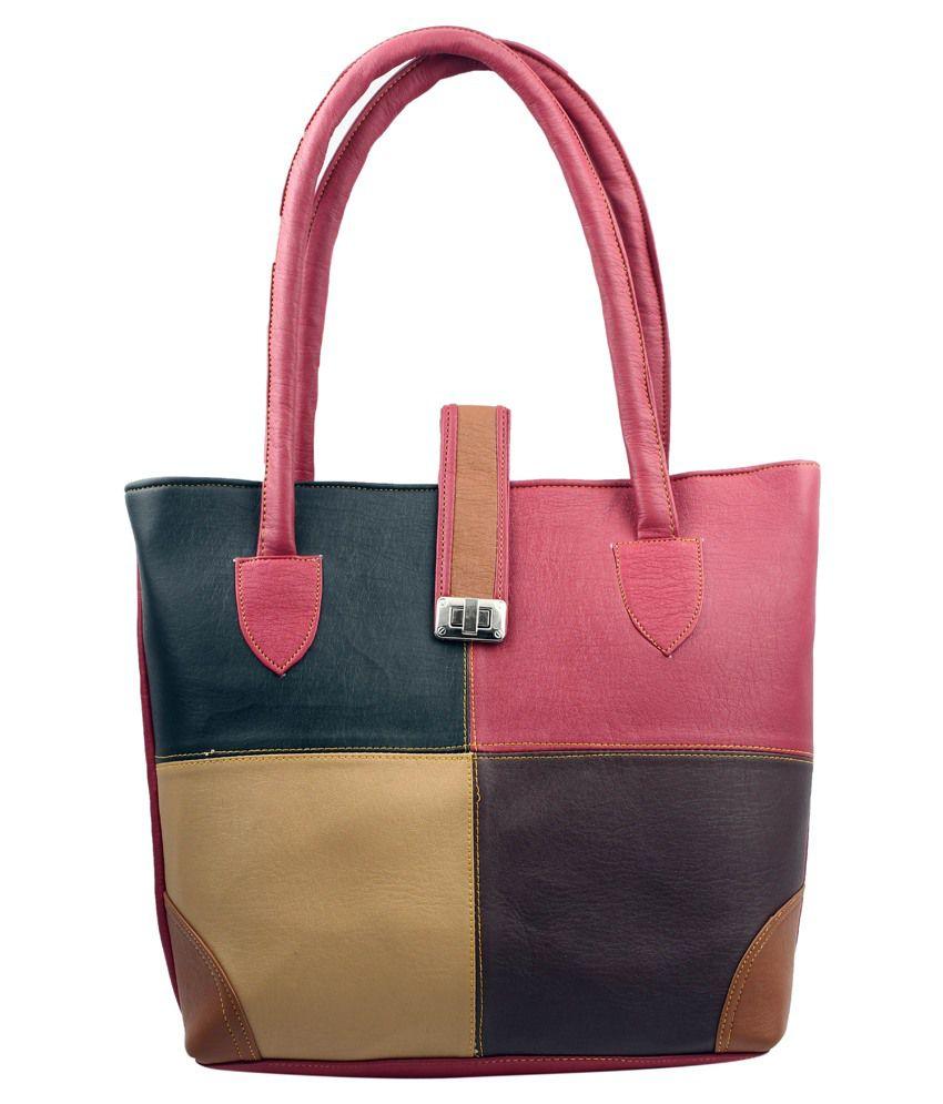 Haster Multicolour Zipped Shoulder Bag