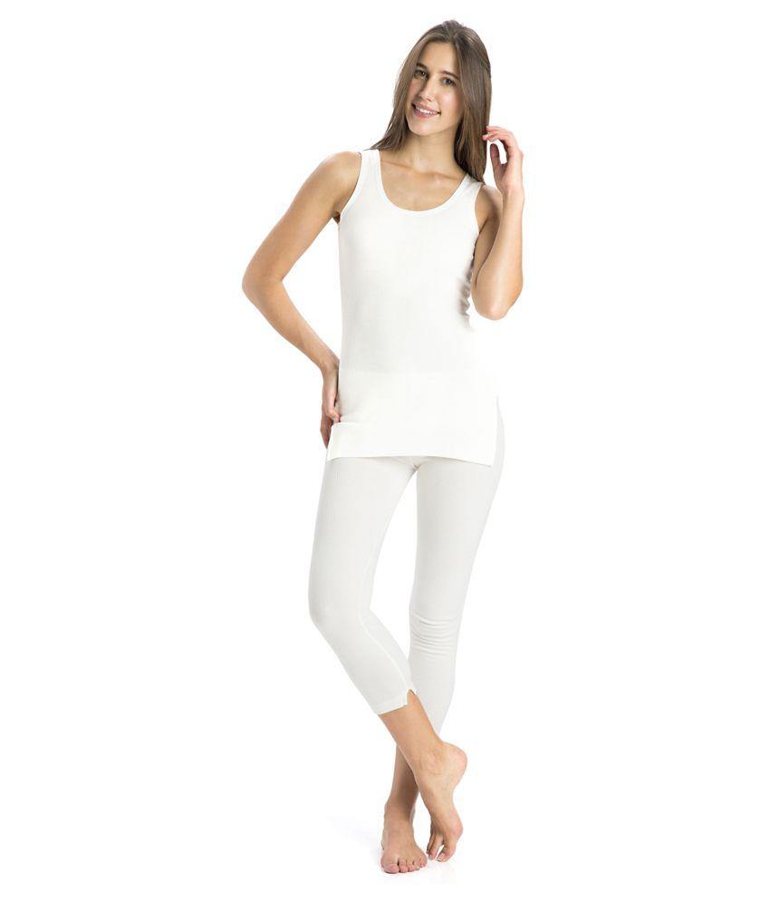 Jockey White Cotton Bottomwear