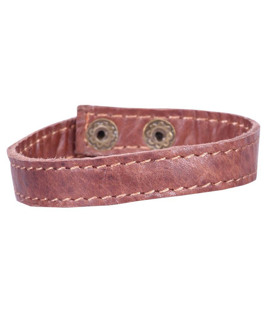 Sakhi Styles Brown Daily Wear Bracelet