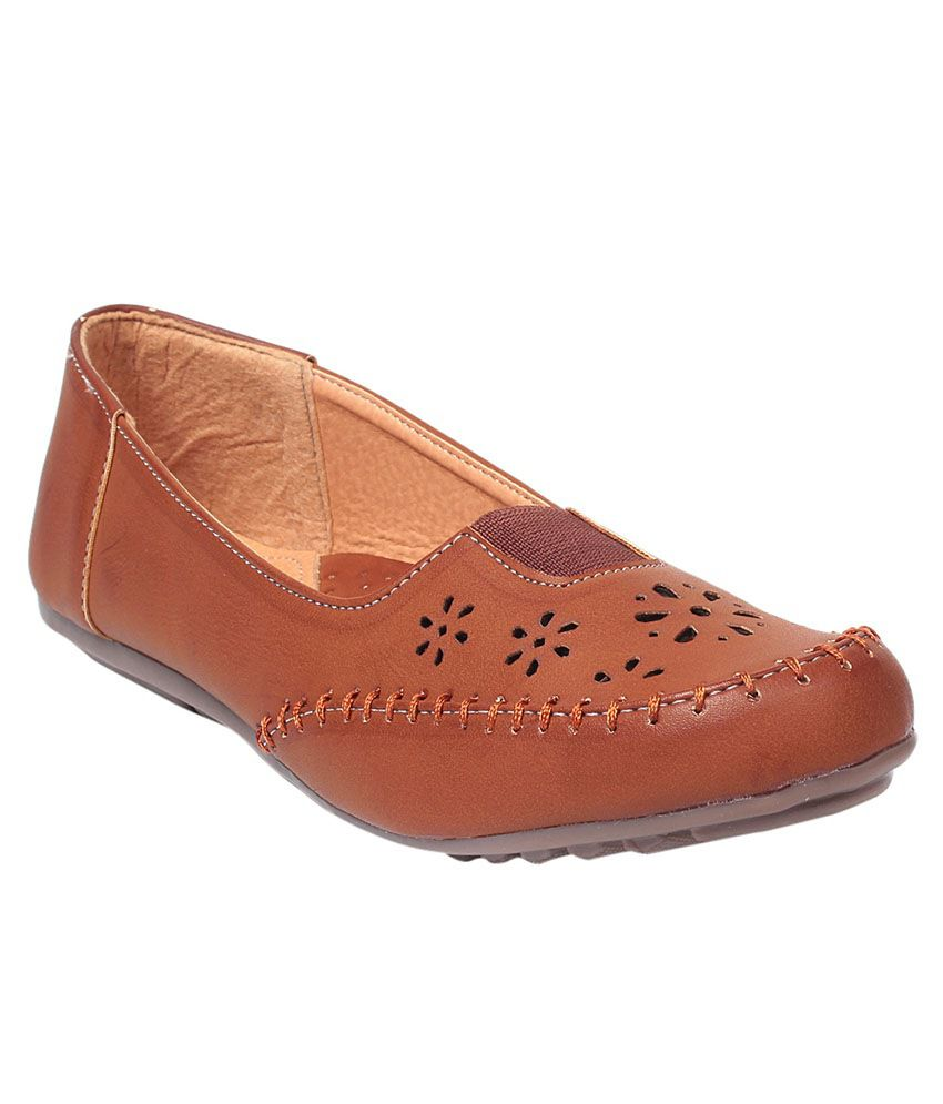 Bare Soles Tan Loafers