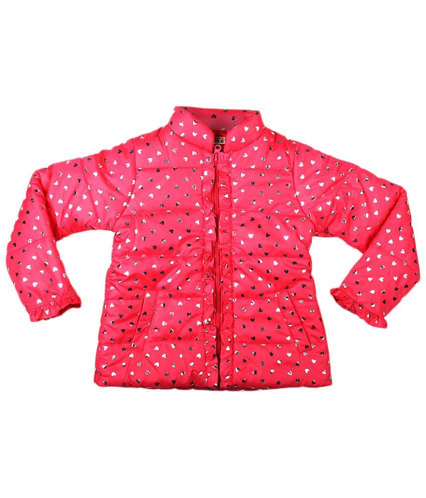 People Pink Full Sleeve Quilted Jacket