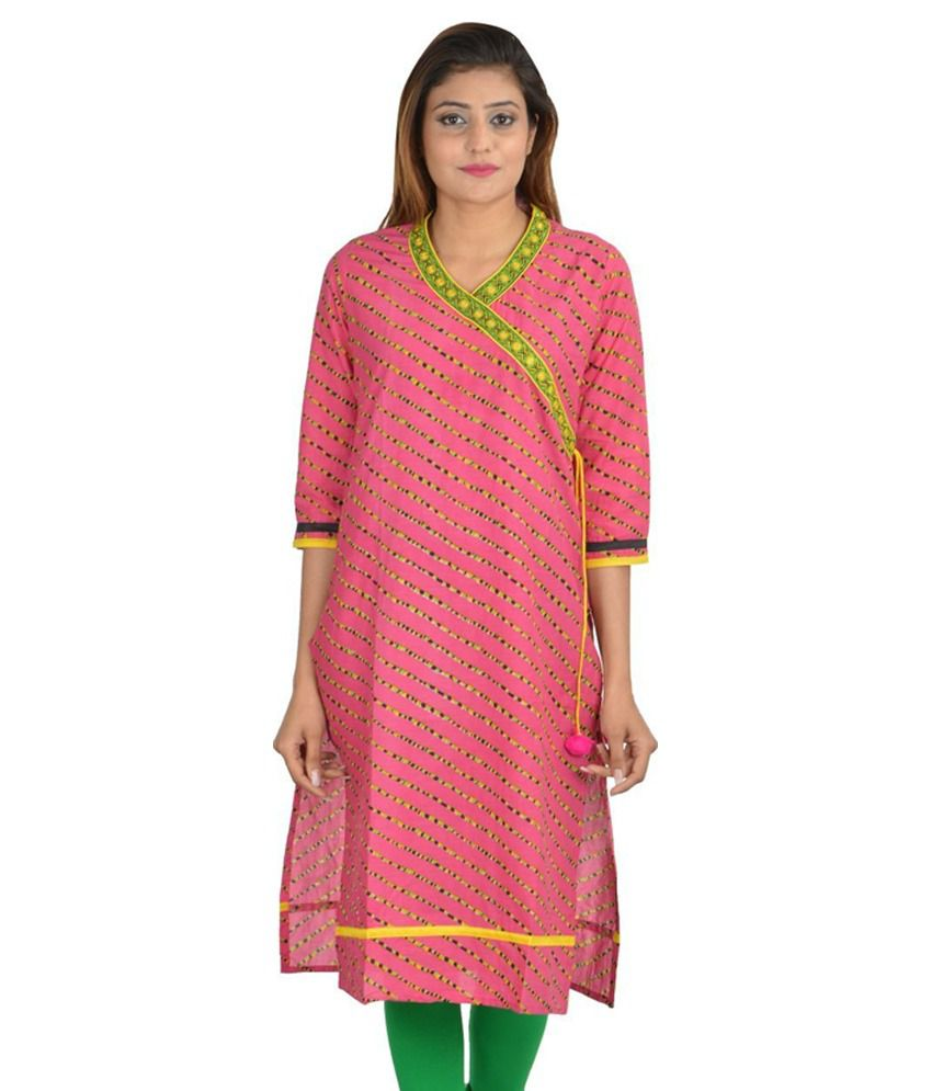 Pure Comfort Pink And Yellow Cotton