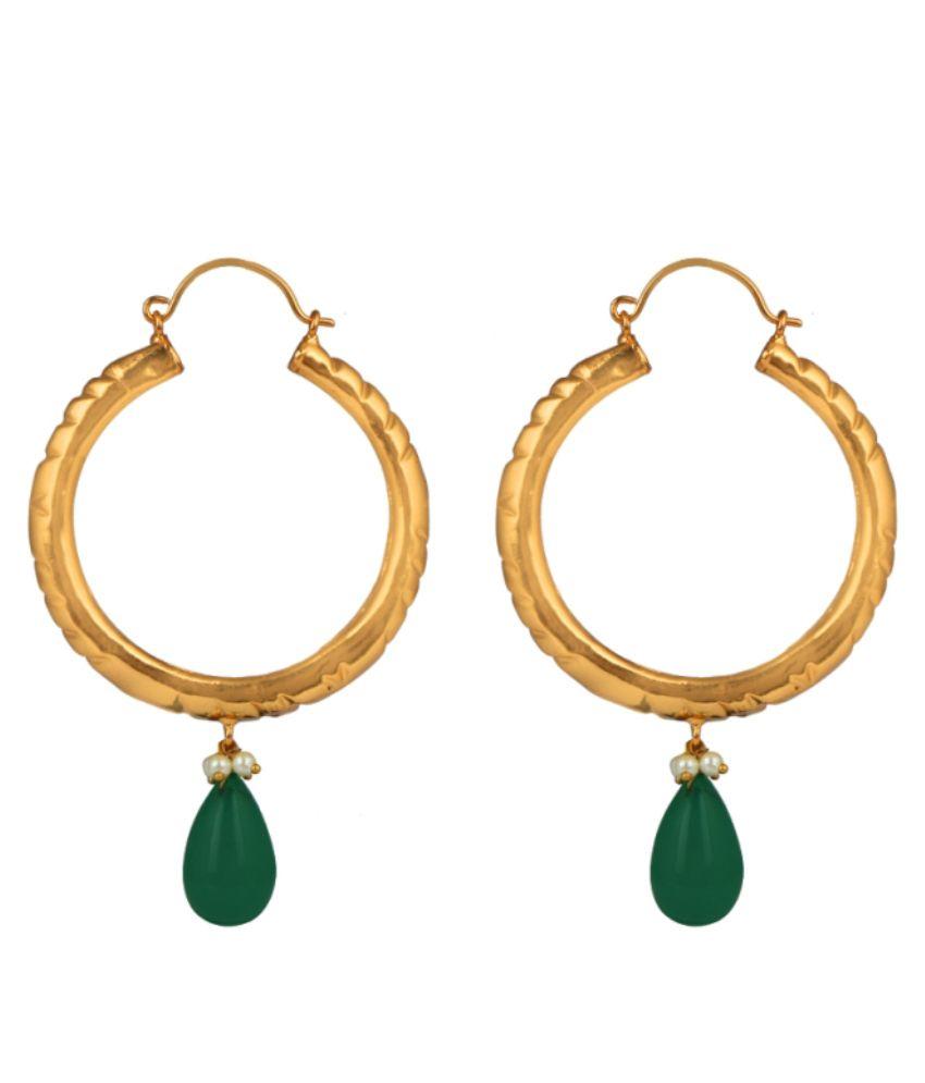 Radz Multicolour Designer Hanging Earrings