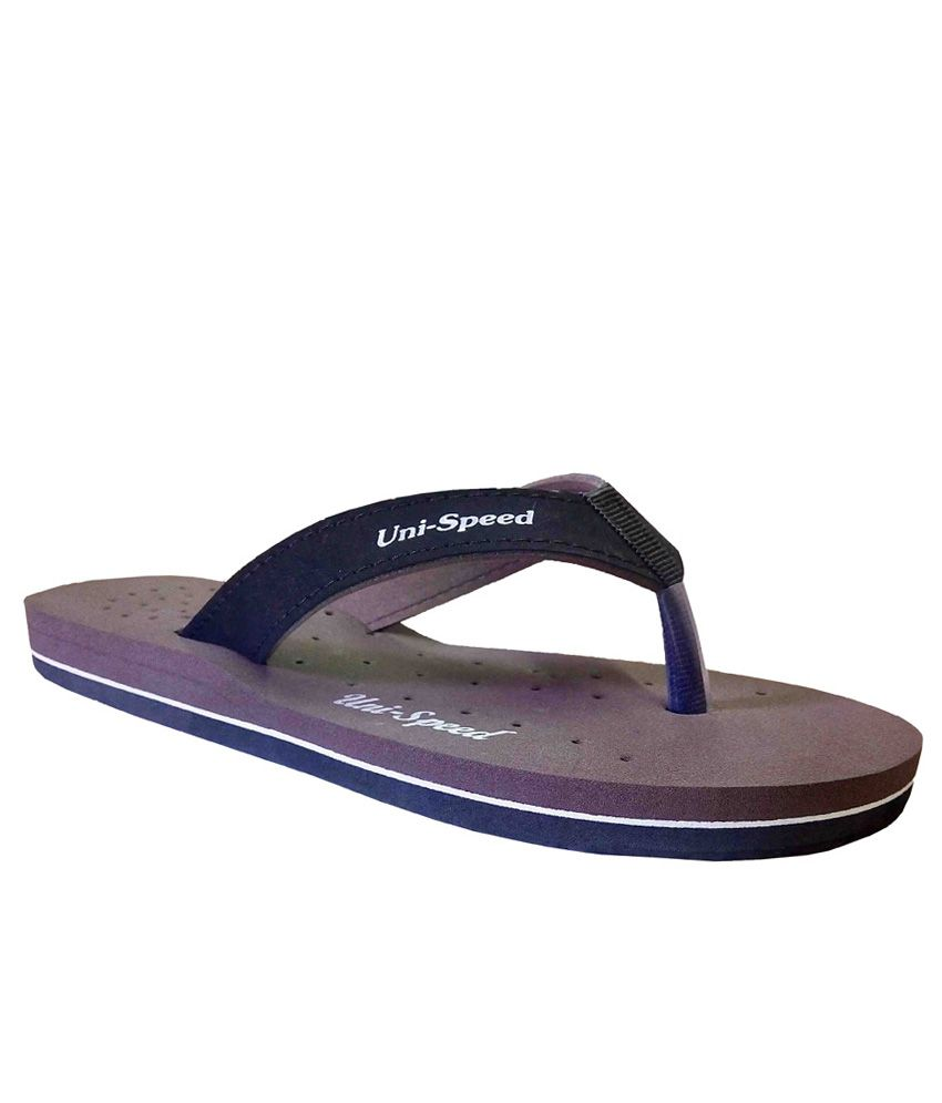 Unispeed Brown Flip Flops