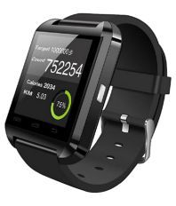 Bingo Black U8 Bluetooth Smart Watch