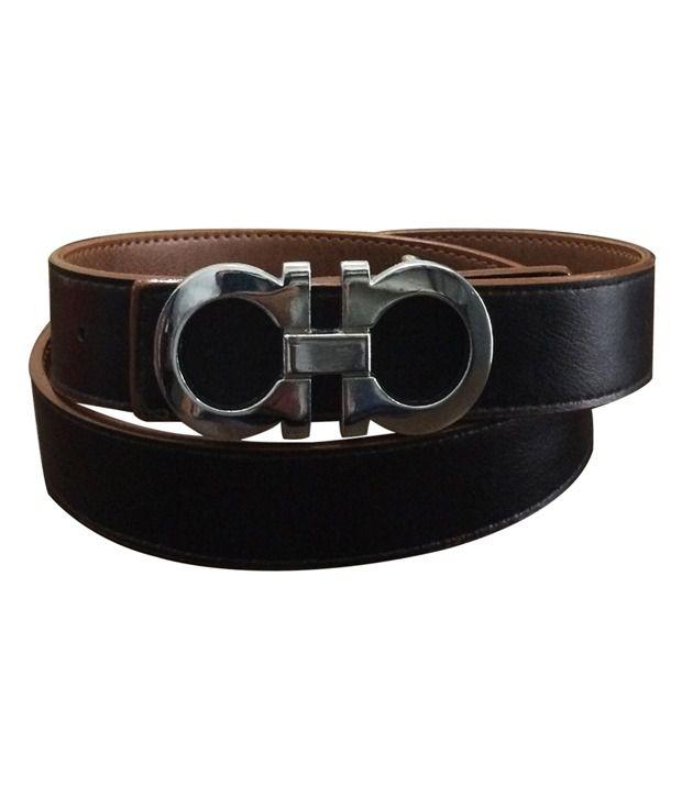 Verceys Reversible Leather Belt For Men