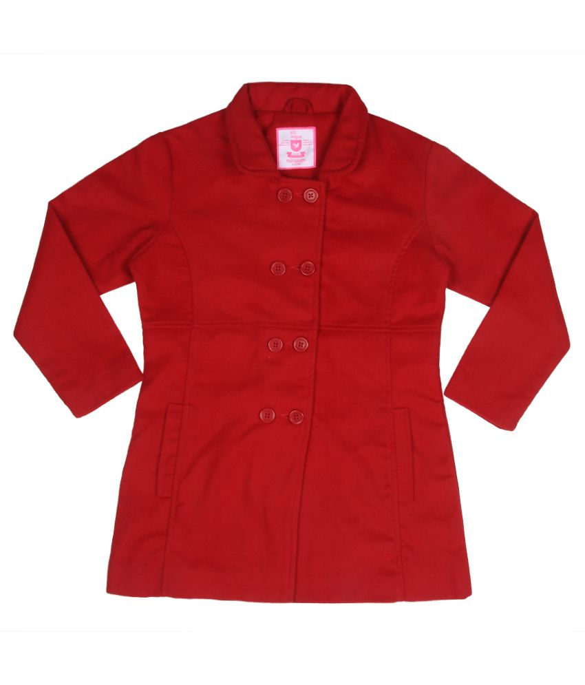 612 League Red Full Sleeves Jacket