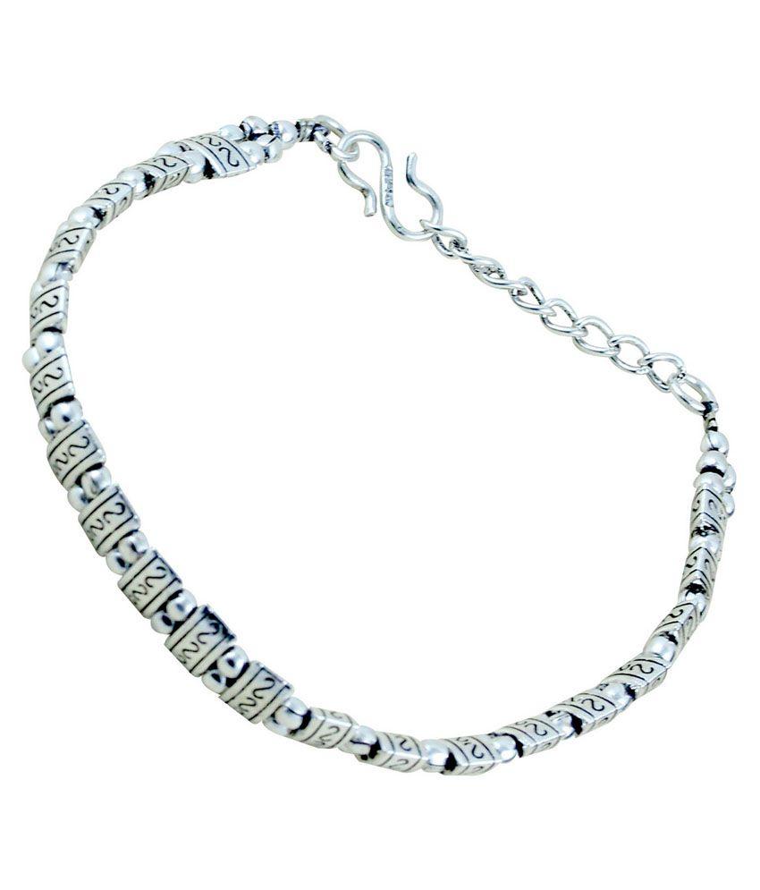 ijuels Style Diva Designer Silver Bracelet