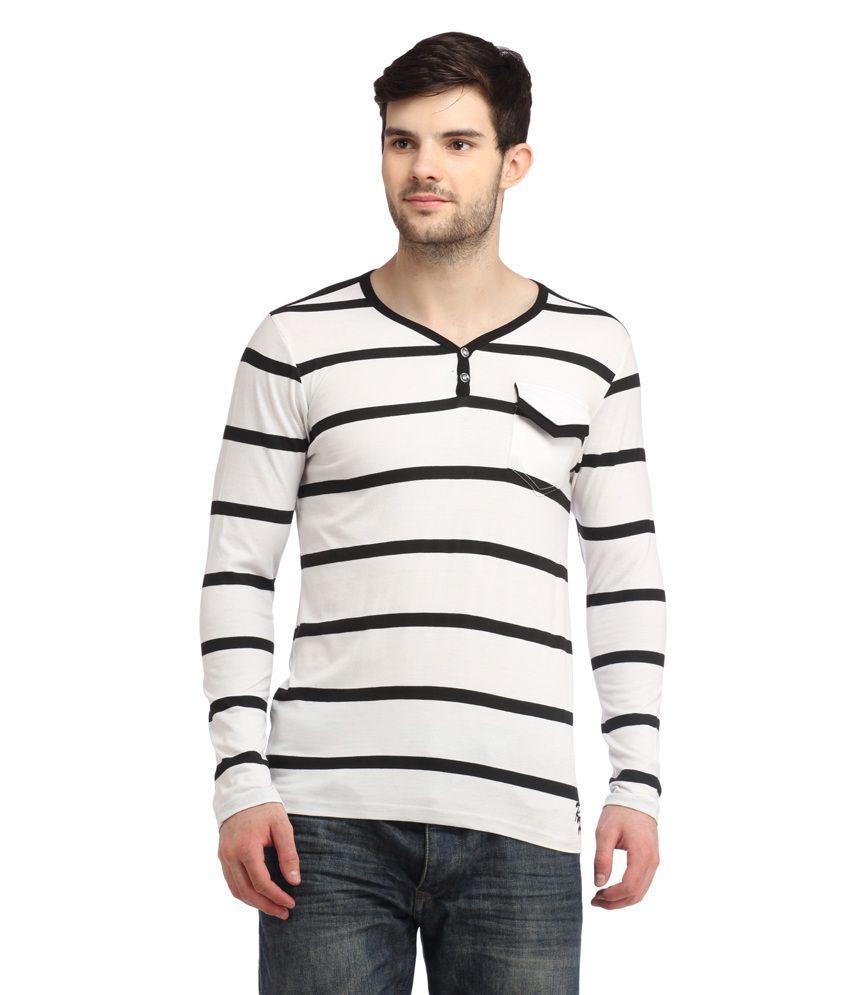 Rock Hard White Round T-Shirt