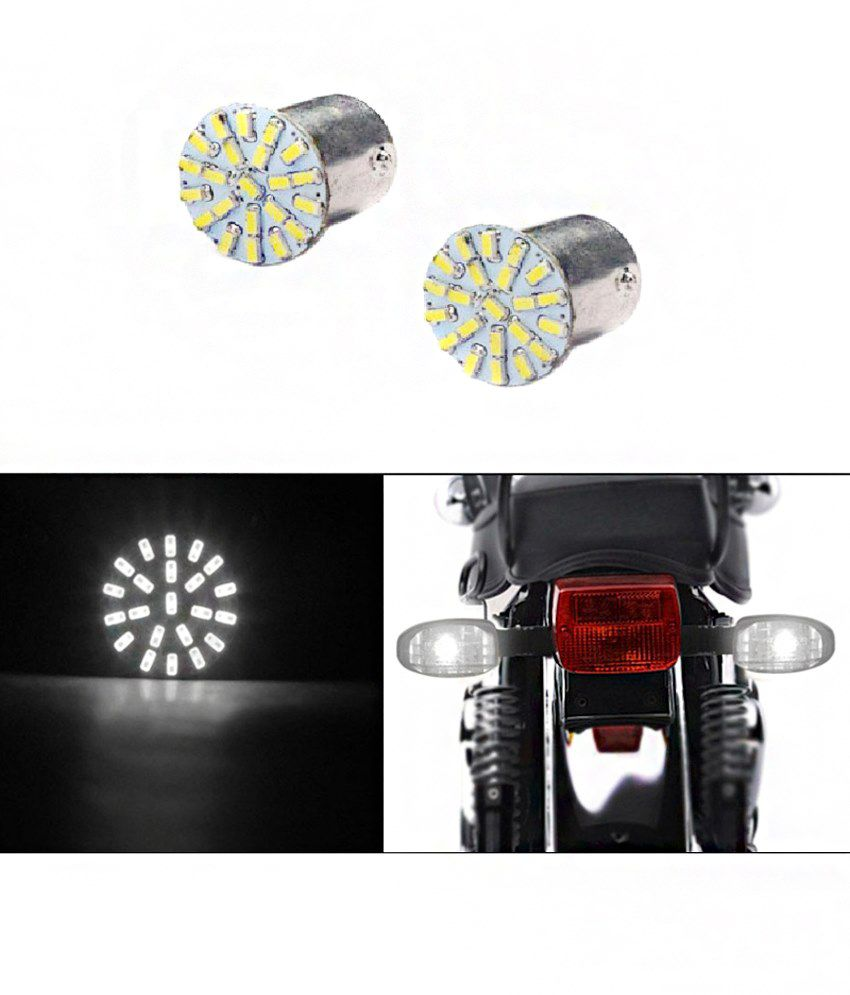 Harman White Indicator Led Bulb For Ktm Rc 390 Set Of 2