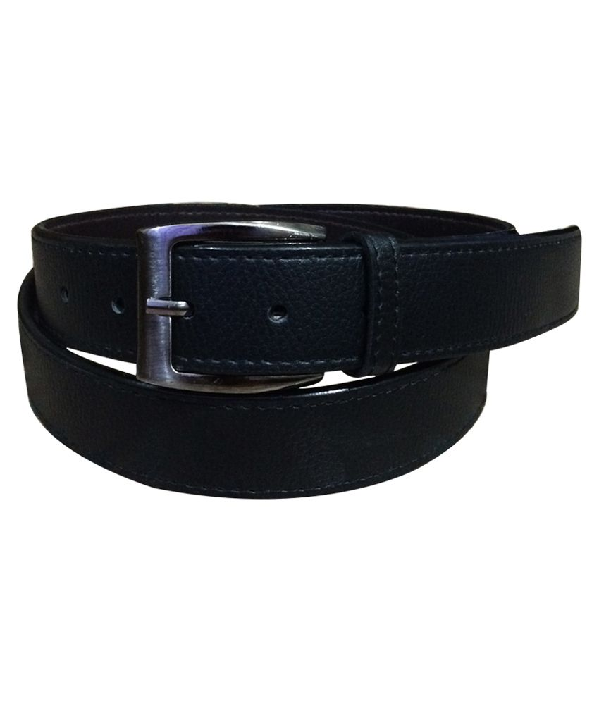 verceys black leather formal belt for available at