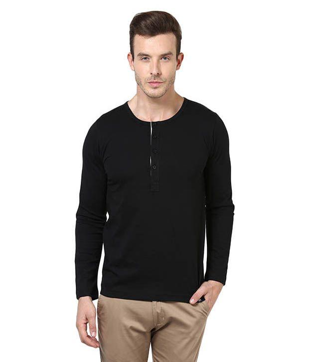 Bukkl Black Cotton T-shirt