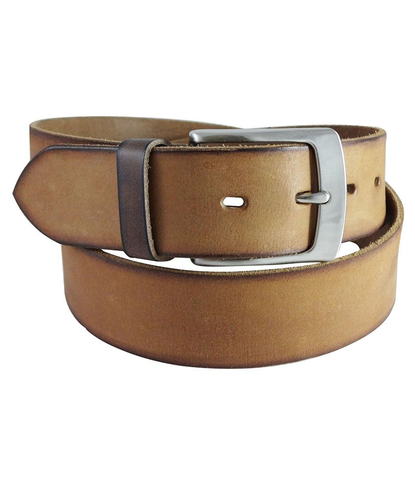 Moores Tan Leather Casual Belt