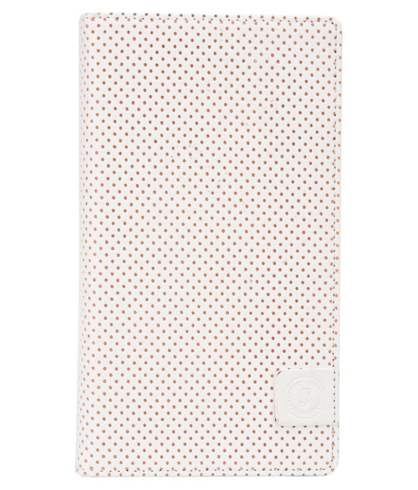 Jo Jo Flip Cover For HTC Desire 816G Dual Sim - White