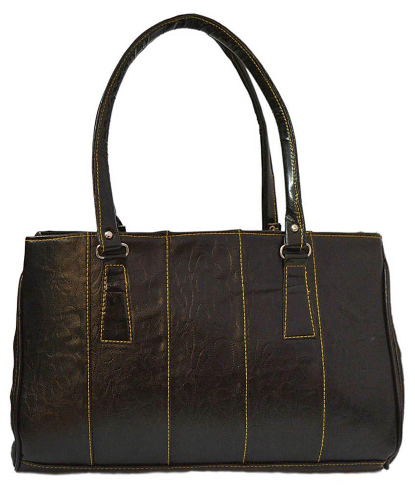 Minar Black Shoulder Bag