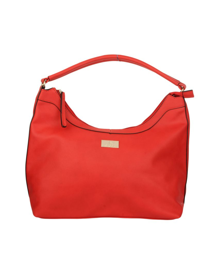 Alvaro Castagnino Red Shoulder Bag